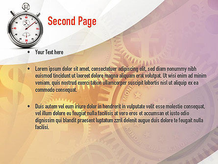 Time and Money PowerPoint Template Slide 2