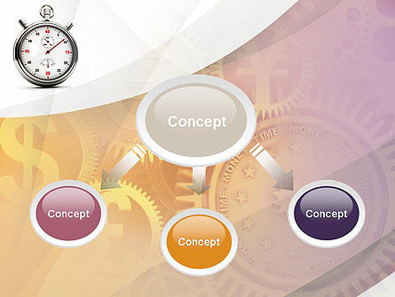 Time and Money PowerPoint Template, Slide 4, 10857, Financial/Accounting — PoweredTemplate.com