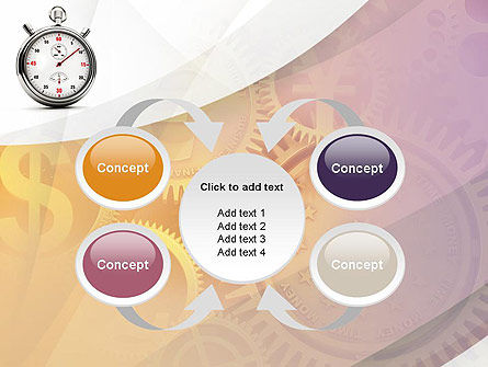 Time and Money PowerPoint Template Slide 6