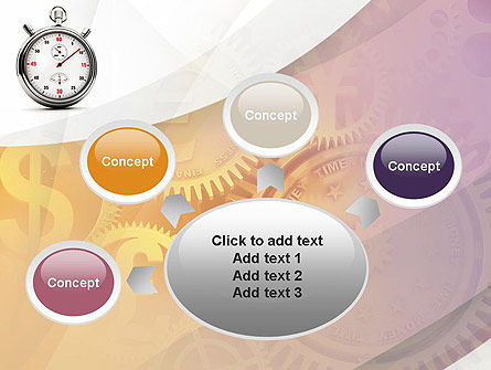Time and Money PowerPoint Template Slide 7