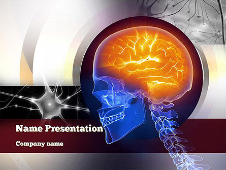 Medical: Neurosurgery PowerPoint Template #10860