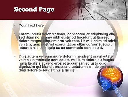 Neurosurgery PowerPoint Template, Slide 2, 10860, Medical — PoweredTemplate.com
