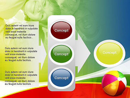 Inflatable Ball PowerPoint Template Slide 11