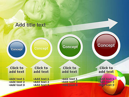 Inflatable Ball PowerPoint Template Slide 13