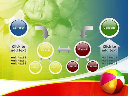 Inflatable Ball PowerPoint Template Slide 19