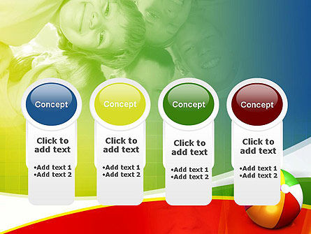 Inflatable Ball PowerPoint Template Slide 5