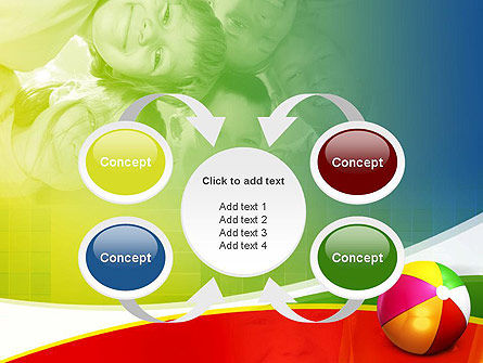 Inflatable Ball PowerPoint Template Slide 6