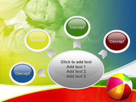 Inflatable Ball PowerPoint Template Slide 7