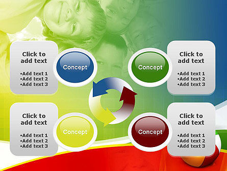 Inflatable Ball PowerPoint Template Slide 9