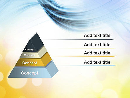 Light Abstract Theme PowerPoint Template Slide 12