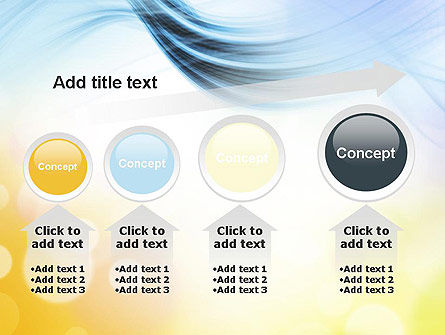 Light Abstract Theme PowerPoint Template Slide 13