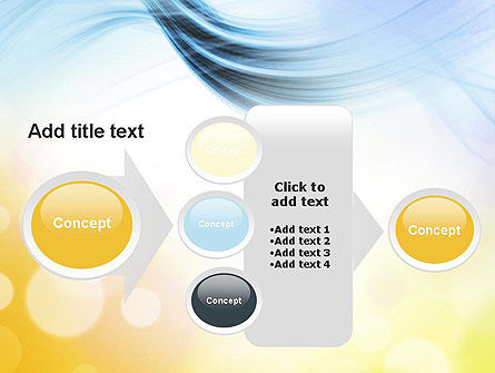 Light Abstract Theme PowerPoint Template Slide 17