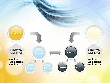 Light Abstract Theme PowerPoint Template Slide 19