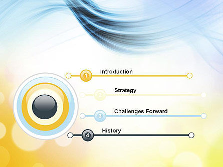 Light Abstract Theme PowerPoint Template Slide 3