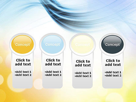 Light Abstract Theme PowerPoint Template Slide 5