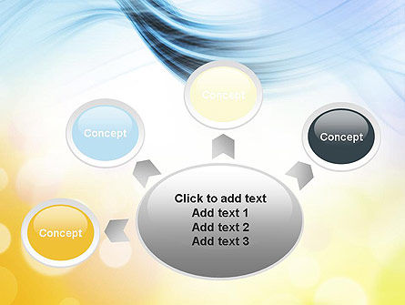 Light Abstract Theme PowerPoint Template Slide 7
