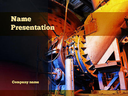 Coal Mixer PowerPoint Template