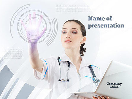 Medical: Medical Technology Innovation PowerPoint Template #10866