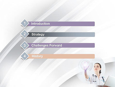 Medical Technology Innovation PowerPoint Template, Slide 3, 10866, Medical — PoweredTemplate.com