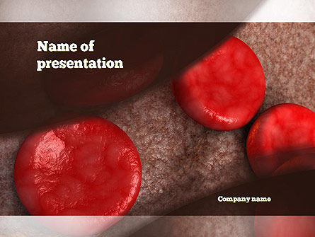 Medical: Red Cells PowerPoint Template #10870