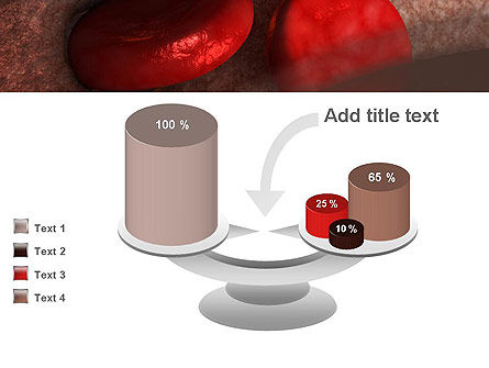 Red Cells PowerPoint Template Slide 10