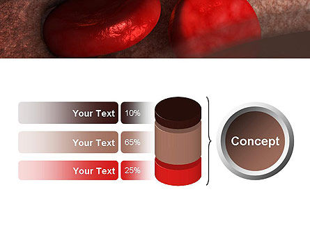 Red Cells PowerPoint Template Slide 11