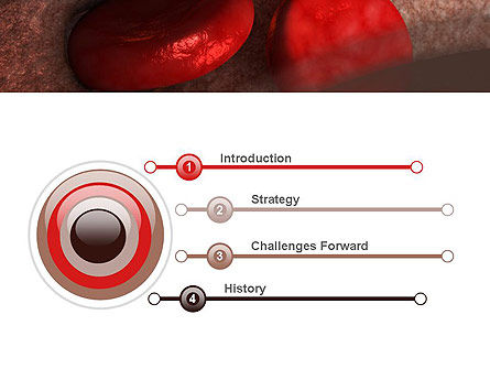 Red Cells PowerPoint Template Slide 3