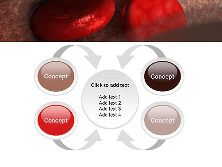 Red Cells PowerPoint Template Slide 6