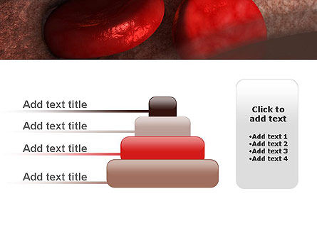 Red Cells PowerPoint Template Slide 8