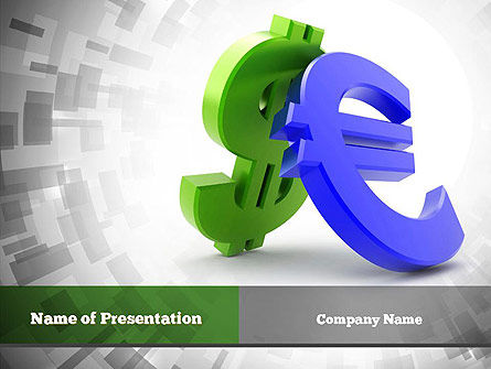 Currency War PowerPoint Template, 10873, Financial/Accounting — PoweredTemplate.com