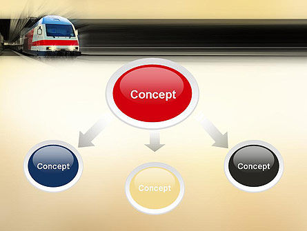 Electric Locomotive PowerPoint Template Slide 4
