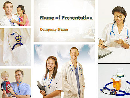 Pediatricians PowerPoint Template