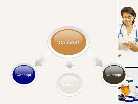 Pediatricians PowerPoint Template, Slide 4, 10875, People — PoweredTemplate.com