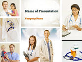 Pediatricians PowerPoint Template#1