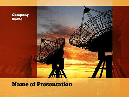Technology and Science: Science and Technology PowerPoint Template #10878