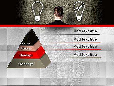 The Right Business Idea PowerPoint Template Slide 12