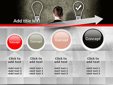 The Right Business Idea PowerPoint Template Slide 13