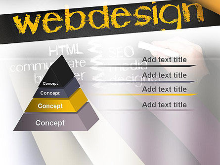 Web Design PowerPoint Template Slide 12