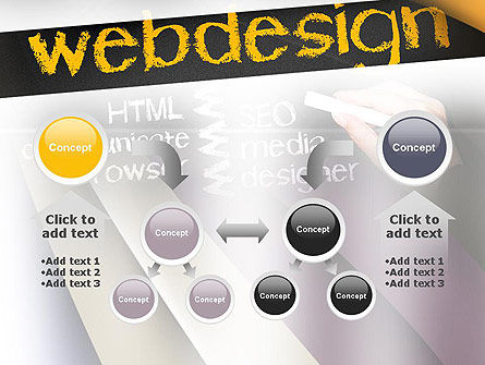 Web Design PowerPoint Template Slide 19
