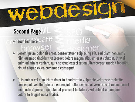 Web Design PowerPoint Template Slide 2