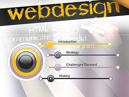 Web Design PowerPoint Template, Slide 3, 10881, Careers/Industry — PoweredTemplate.com