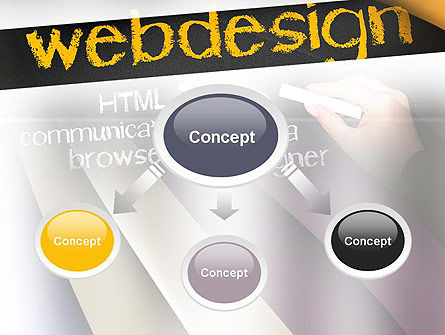 Web Design PowerPoint Template Slide 4