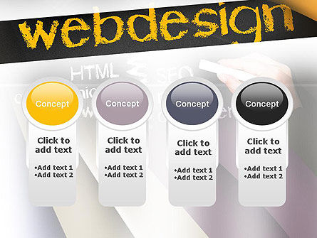 Web Design PowerPoint Template Slide 5