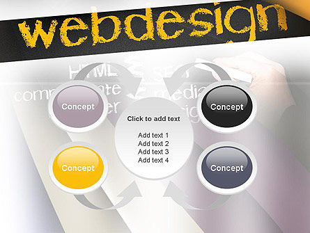 Web Design PowerPoint Template Slide 6