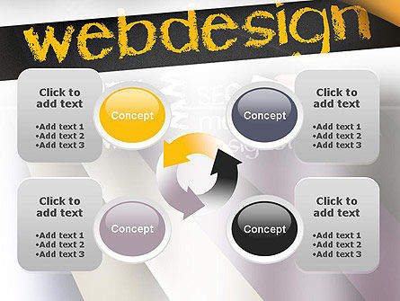 Web Design PowerPoint Template Slide 9