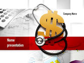 Financial/Accounting: Medische Hervorming PowerPoint Template #10882