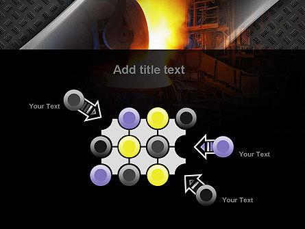 Steel Mill PowerPoint Template Slide 10