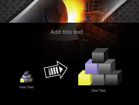 Steel Mill PowerPoint Template Slide 13