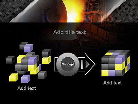 Steel Mill PowerPoint Template Slide 17