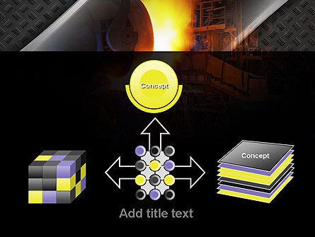 Steel Mill PowerPoint Template Slide 19